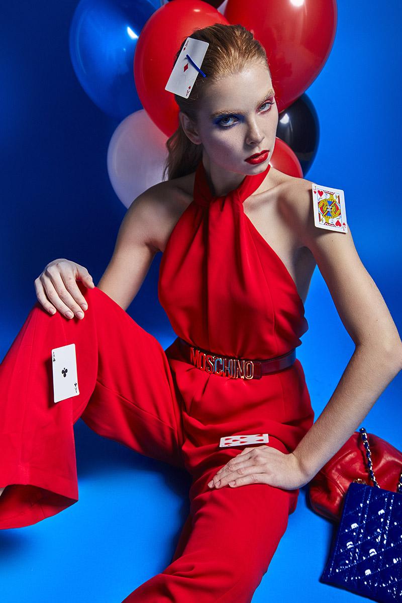 Editorial story Liza @ Boom models