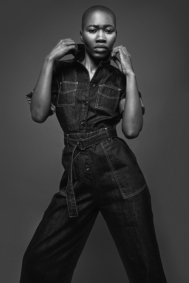 Kamila Smith denim campaign