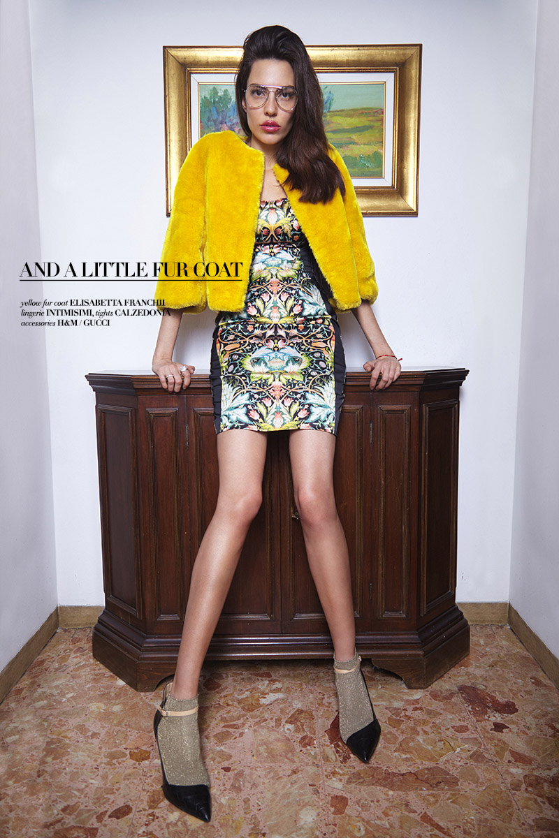 Sammara brazilian model in editorial story