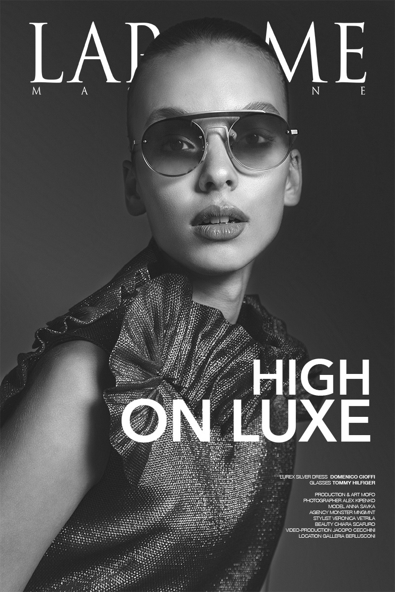 LaPalme cover High on Luxe editorial Anna Savka Monster-management by kipenkocom