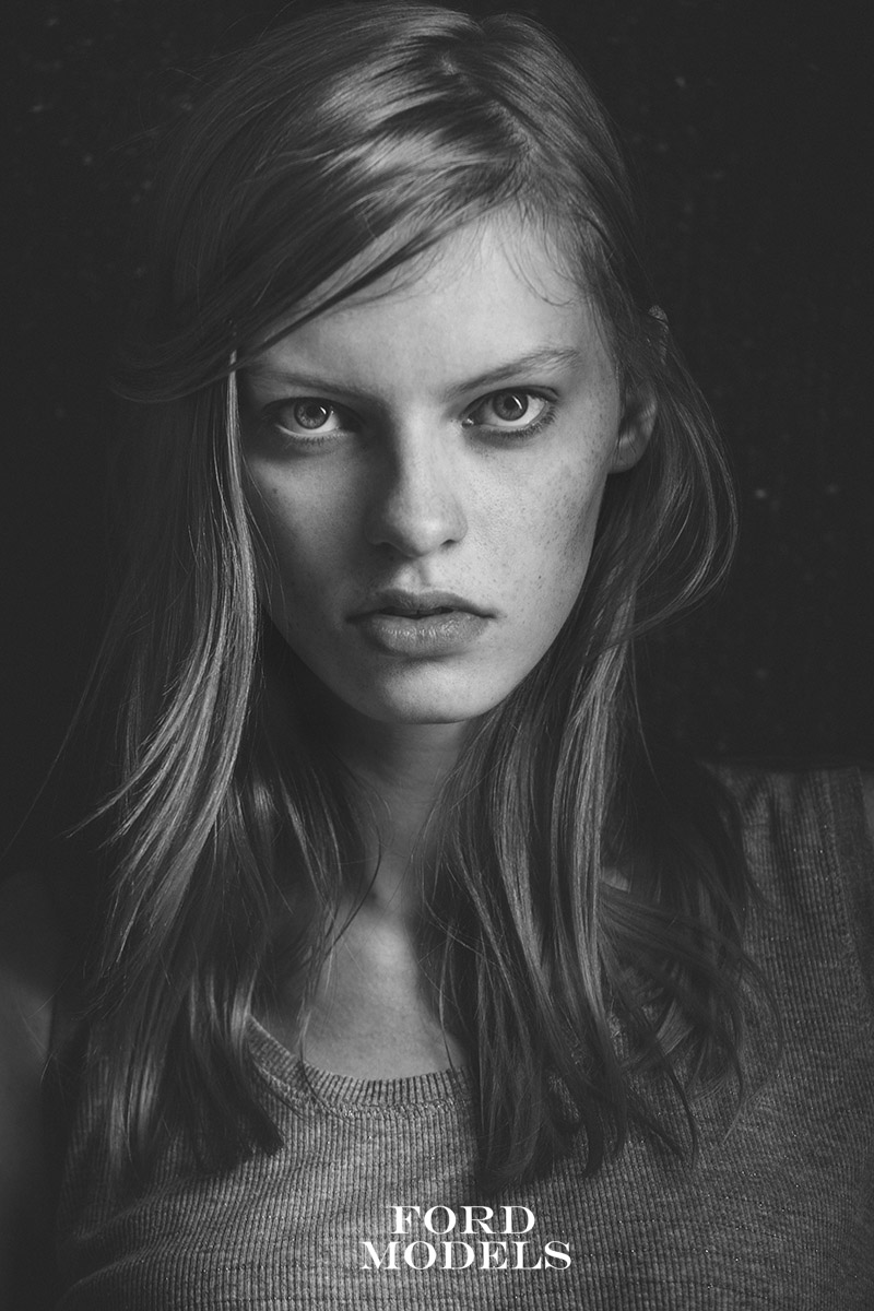 Ford Models Paris modeltest by Alex Kipenko fashion photographer